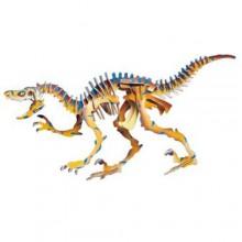 Woodcraft Dřevěné 3D puzzle Velociraptor