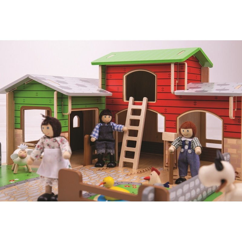 Bigjigs Toys Farma Cobblestone