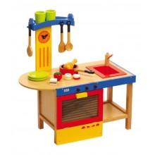 Dětská dřevěná kuchyňka Magic
