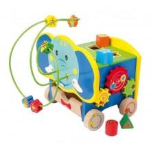 Small Foot motorické hračky aktivní motorický slon