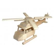 Ceeda Cavity - dřevěný vrtulník Helikoptéra III.