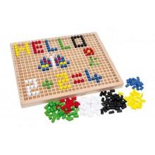 Small Foot Dřevěné kreativní hračky nasouvací box