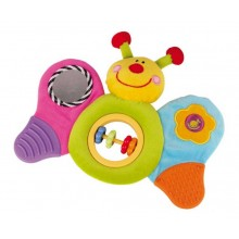Small Foot Motorická textilní hračka Motýl