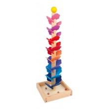 Dřevěné hračky - Dřevěná kuličková dráha Melodie