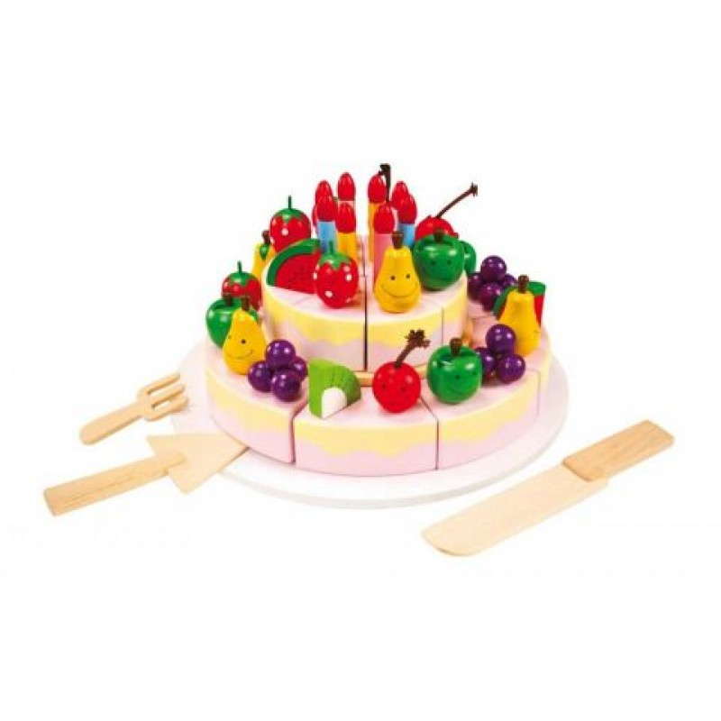 Small Foot Velký narozeninový dort- sleva