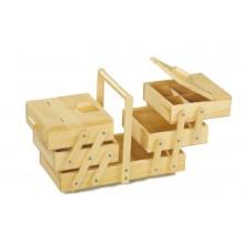 Small Foot Dřevěný skládací patrový box na cokoliv