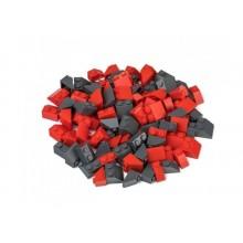 L-W Toys Kreativní set střešní prvky červená & tmavě šedá