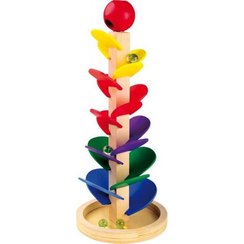 Small Foot Dřevěné hračky kuličková dráha se zvukem
