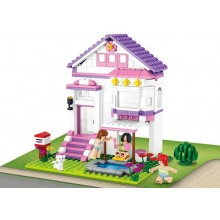 Sluban Girls Dream Town M38-B0532 Prázdninový dům