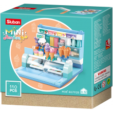 Sluban Mini Handcraft M38-B0792B Prodejní stánek se zmrzlinou