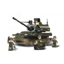 Sluban Army M38-B9800 Tank Leopard