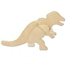 Woodcraft Dřevěné 3D puzzle mini skládačka Tyranosaurus