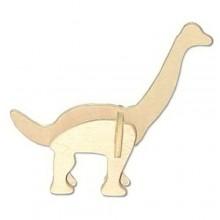 Dřevěná mini skládačka - dinosauři Brachiosaurus MA1040
