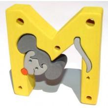Fauna Abeceda písmenko M myš