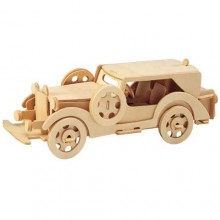 Woodcraft Dřevěné 3D Ford model V8
