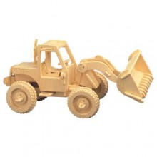 Woodcraft Dřevěné 3D puzzle nakladač