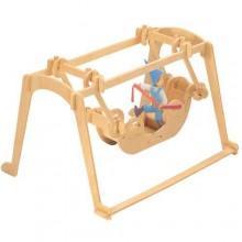 Woodcraft Dřevěné 3D puzzle houpačka
