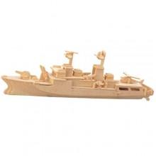 Woodcraft Dřevěné 3D puzzle Torpédoborec