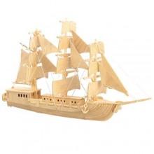 Woodcraft Dřevěné 3D puzzle loď plachetnice