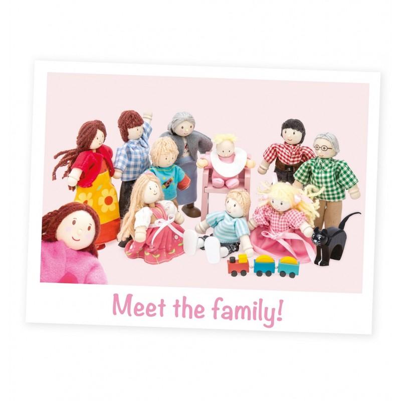 Le Toy Van Postavičky moje rodinka