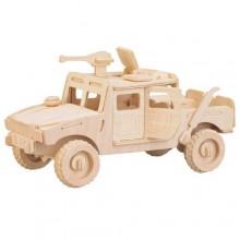 Woodcraft Dřevěné 3D puzzle bojové vozidlo