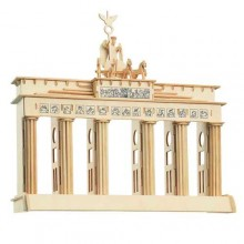 Dřevěné skládačky 3D puzzle Brandenburgská brána P078