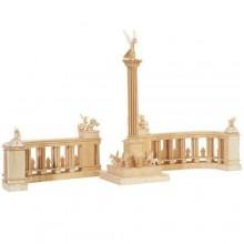 Woodcraft Dřevěné 3D puzzle Millennium Monument