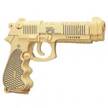 Woodcraft Dřevěné 3D puzzle Beretta M92F