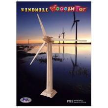 Woodcraft Dřevěné 3D puzzle větrná elektrárna