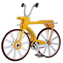 Dřevěné 3D puzzle motorky - dřevěná skládačka - Kolo PC012