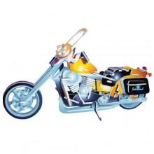 Dřevěné 3D puzzle motorky Motorka Harley-Davidson II PC020