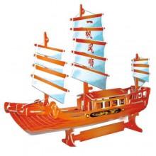 Woodcraft Dřevěné 3D puzzle čínská plachetnice
