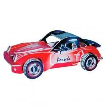 Woodcraft Dřevěné 3D puzzle Porsche