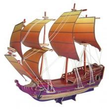 Woodcraft Dřevěné 3D puzzle plachetnice prel