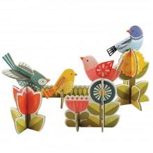 Petitcollage 3D puzzle Ptáčci