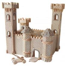 Woodcraft Dřevěné 3D puzzle hrad II