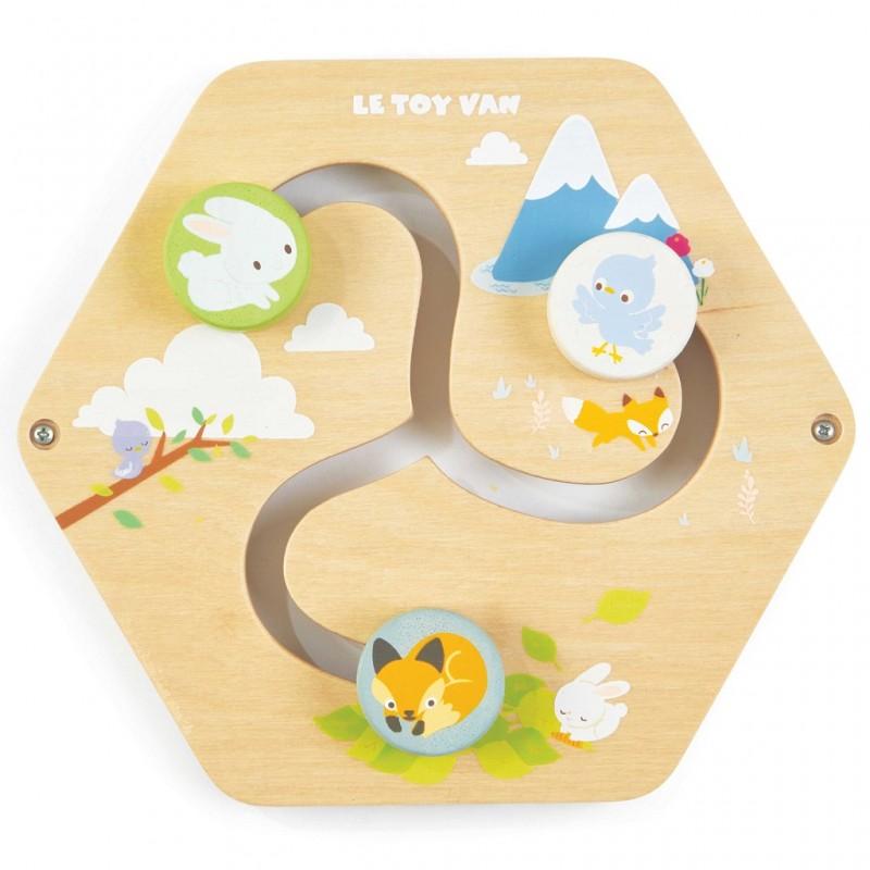 Le Toy Van Petilou panel labyrint