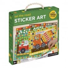 Petitcollage Kreativní samolepky v boxu doprava - 1000 kusů
