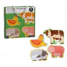 Petitcollage První puzzle zvířátka z farmy