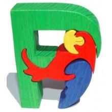 Fauna Abeceda písmeno P papoušek