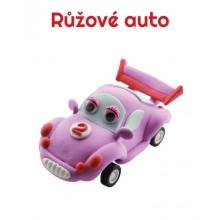 Paulinda modelovací hmota Racing Time auto - růžové