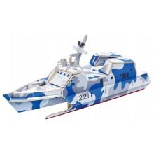 RoboTime Dřevěná skládačka útočná loď typ 022