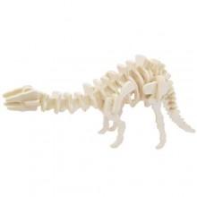 Dřevěné 3D puzzle skládačka - dinosauři Apatosaurus