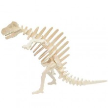 Dřevěné 3D puzzle skládačka - dinosauři Spinosaurus