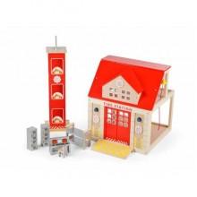 Tidlo Dřevěná hasičská stanice
