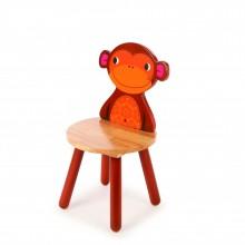 Tidlo Dřevěná židle Animal opička