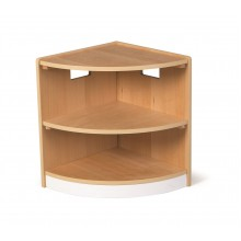 Tidlo Dřevěná rohová skříňka Toddler