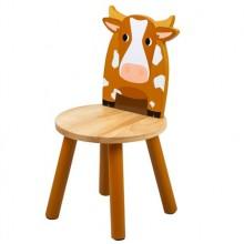 Tidlo Dřevěná židle kravička