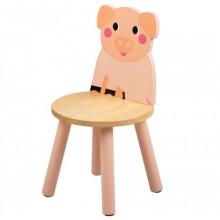 Tidlo Dřevěná židle prasátko