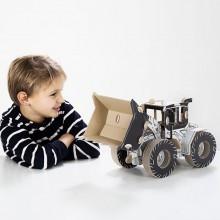 TO DO kartonová 3D skládačka Nakladač